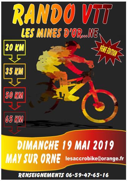 [Rando Vtt] Les Mines d'Or..ne 2019 – 19 mai 2019