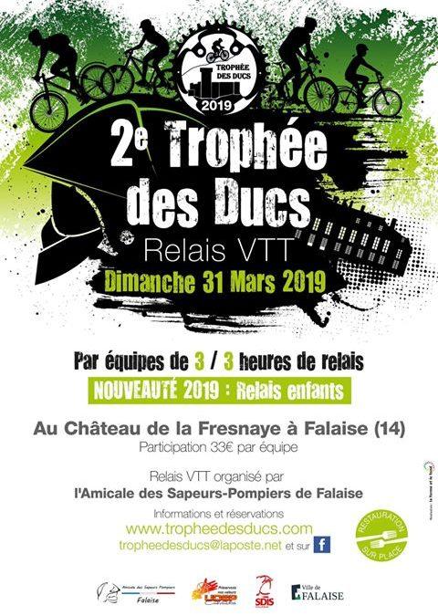 [Course Vtt] Trophée des ducs 2019 à Falaise