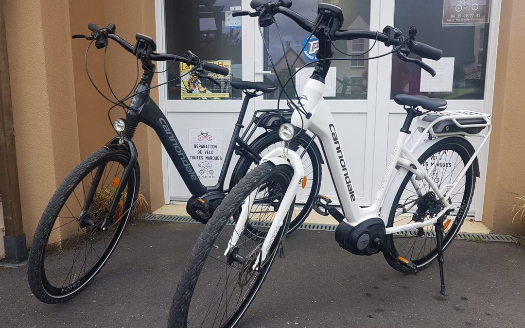 Entretien VAE Cannondale vélo de ville