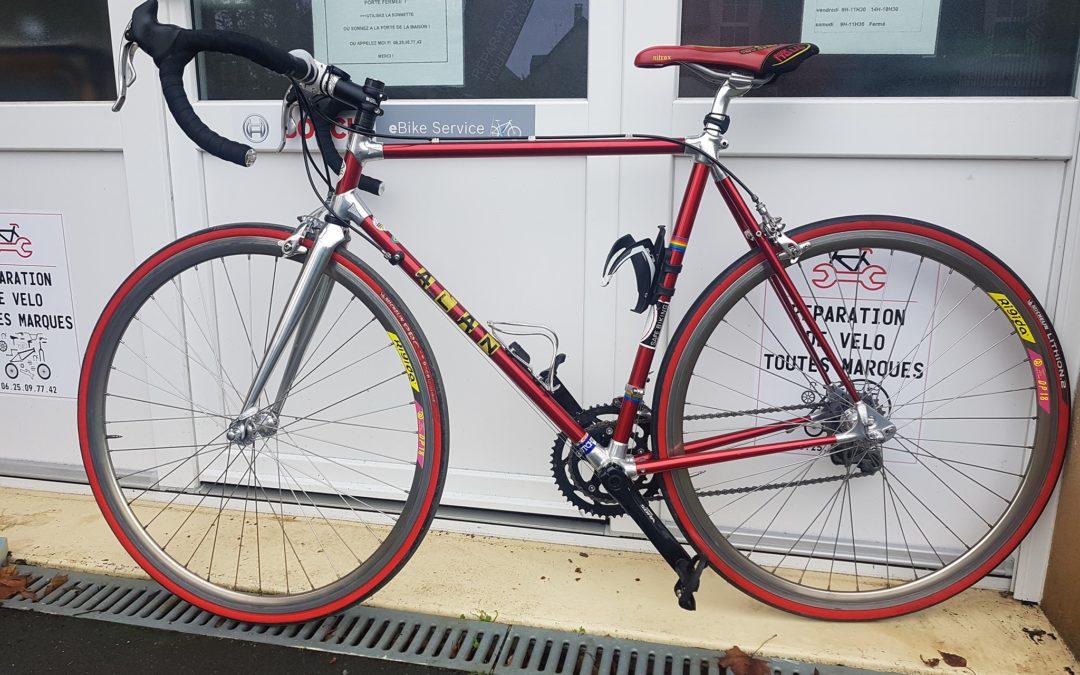 [Entretien Vélos] Cadre Alan équipé Campagnolo